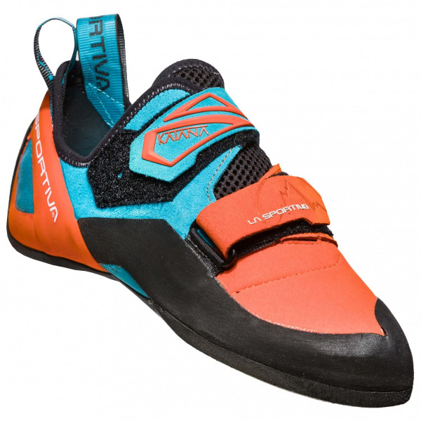 La Sportiva - Katana - tangerine tropic blue - Kletterschuhe