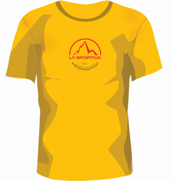 La Sportiva - Logo Tee - Yellow