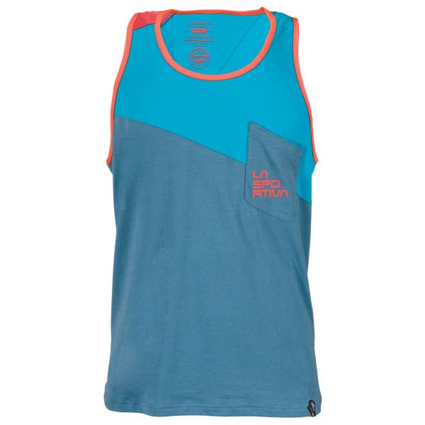 La Sportiva - Dude Tank M - Lake/Tropic Blue