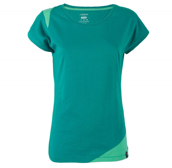 La Sportiva - Chimney T-Shirt W - Emerald/Mint