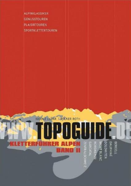 Topoguide - Alpen V bis VIII Band 2 - Kletterführer