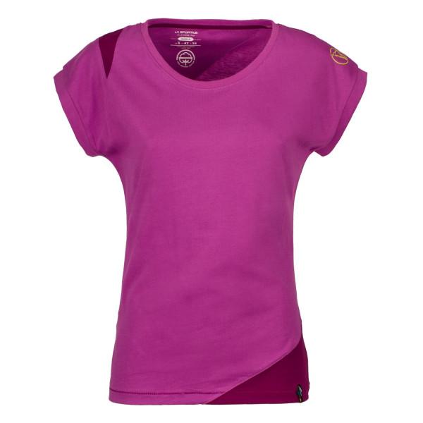 La Sportiva - Chimney T-Shirt W - Purple/Pum