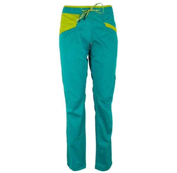 La Sportiva - Temple Pant W Emerald/Citronelle - Kletterhose