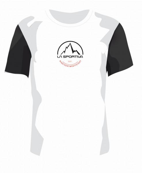 La Sportiva - Logo Tee - White/black