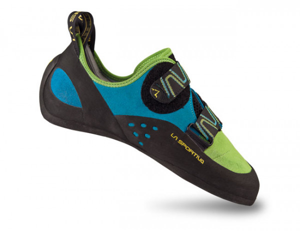 La Sportiva - Katana - grün-blau - Kletterschuhe
