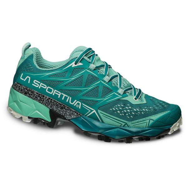 La Sportiva - Akyra W's - Emerald/Mint - Trailrunningschuhe