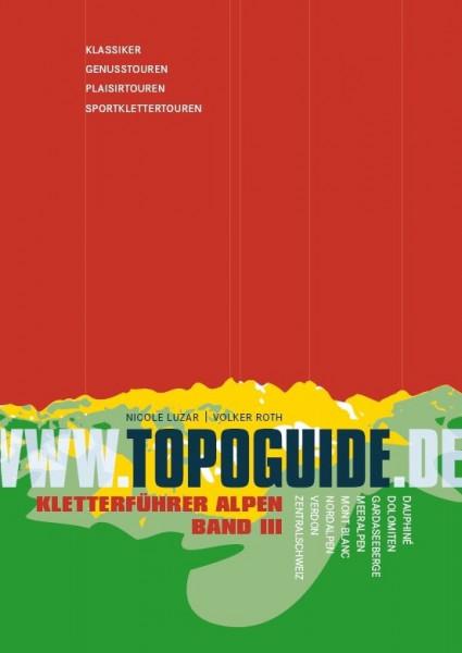 Topoguide - Alpen V bis VIII Band 3 - Kletterführer