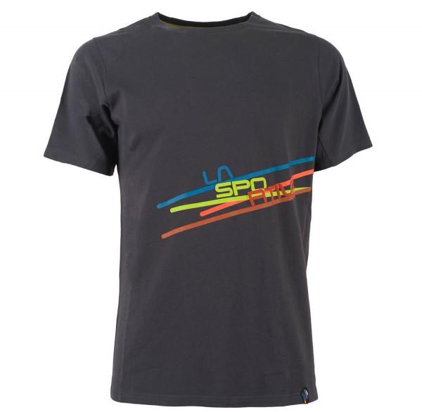 La Sportiva - Stripe 2.0 T-Shirt M - Carbon/Citronelle