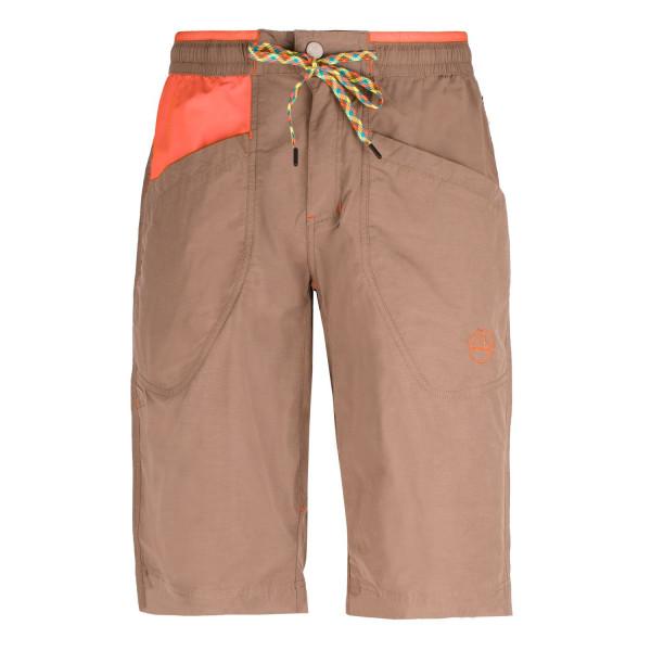 La Sportiva - Leader Short M - Kletterhose - Brown/Tangerine