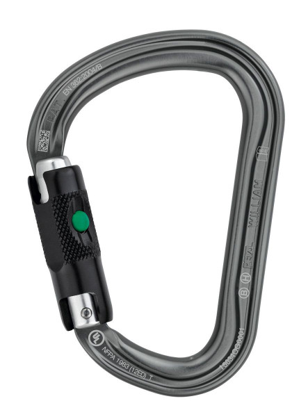 Petzl - William Ball Lock HMS - Sicherungskarabiner