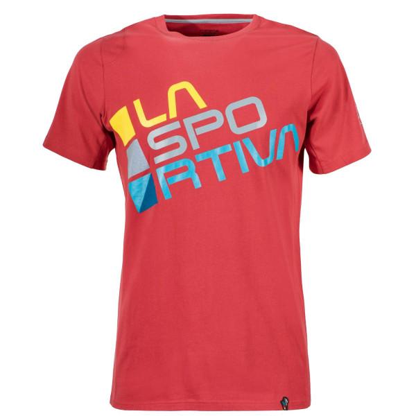 La Sportiva - Square T-Shirt M - Cardinal Red