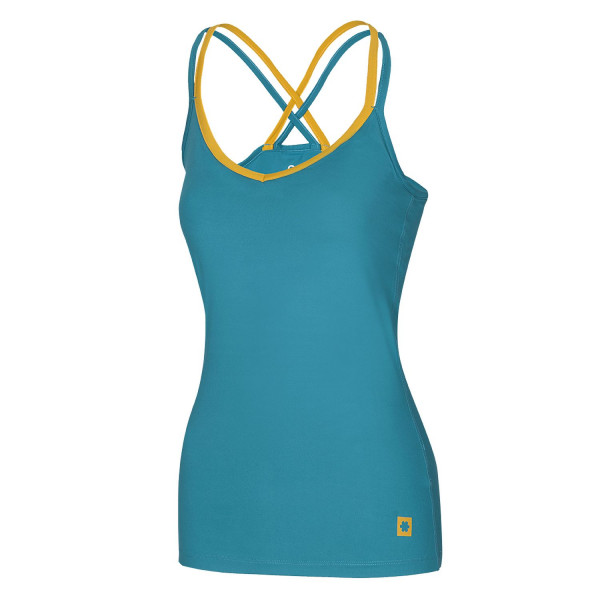 Ocun - Corona Top - Blue/Yellow